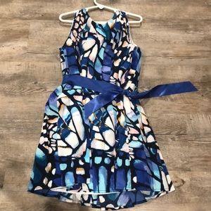Beautiful blues GYMBOREE size 7 girls dress
